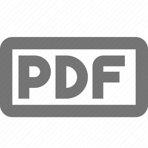 extension, format, pdf icon