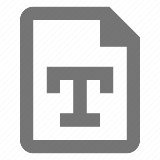 document, file, paper, sheet, text, word icon