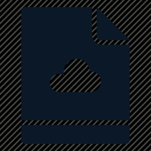 cloud, file, save, storage icon