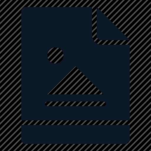 Picture, image, graphic, file icon