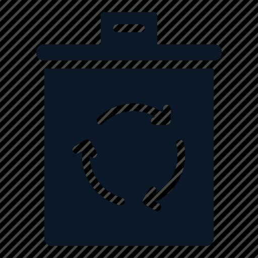 bin, delete, file, recycle icon