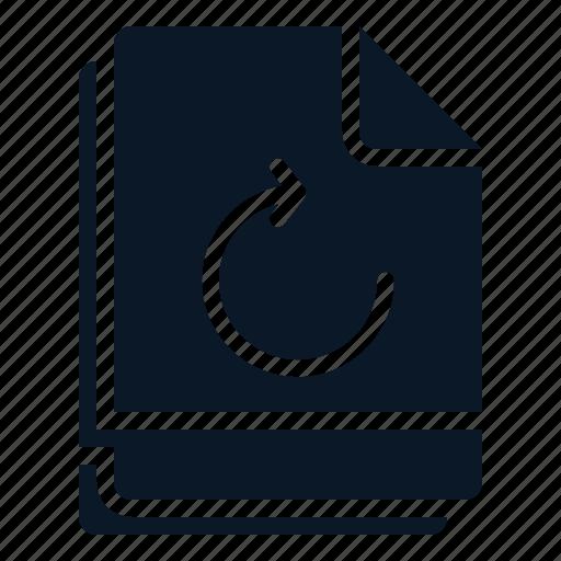 file, multiple, refresh, reload, restore icon