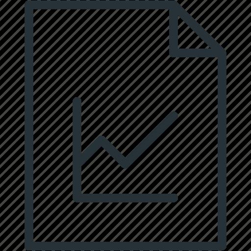 files, stats icon