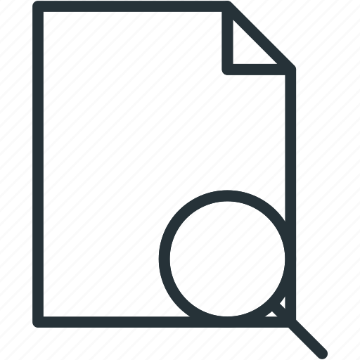 files, search icon
