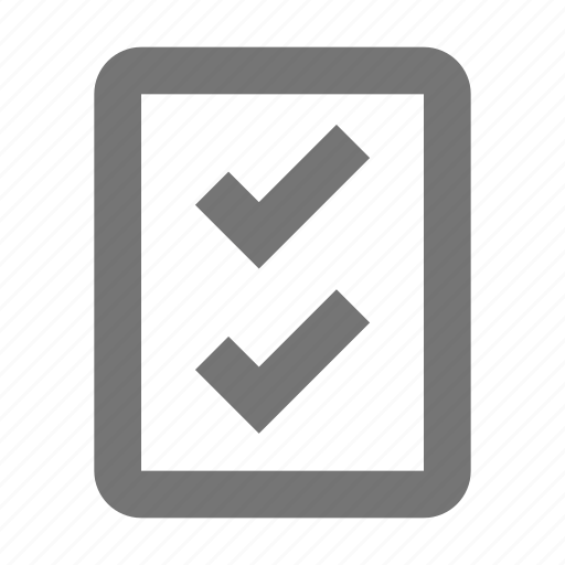 checklist, list, tasks icon