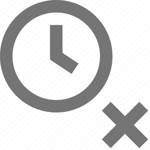 clock, close, day, delete, reminder, schedule, time icon