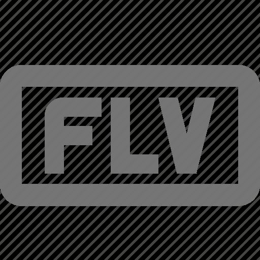 flv, video icon