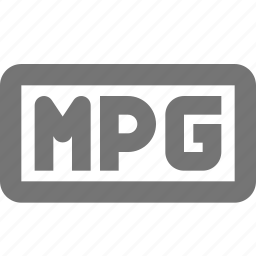 mpg, video icon