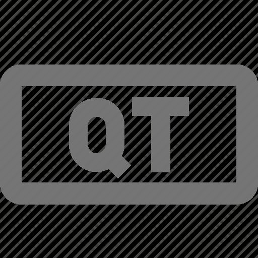 qt, video icon