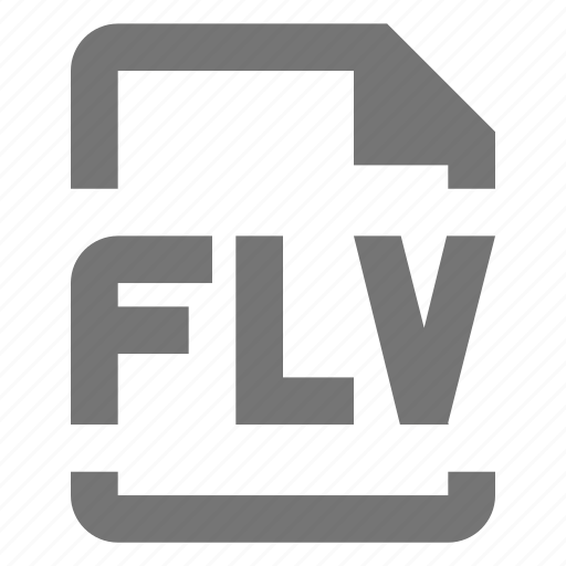 document, file, flv, format, media, paper, sheet, video icon