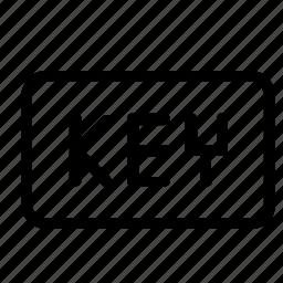 extension, key icon