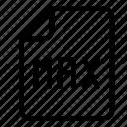extension, max icon