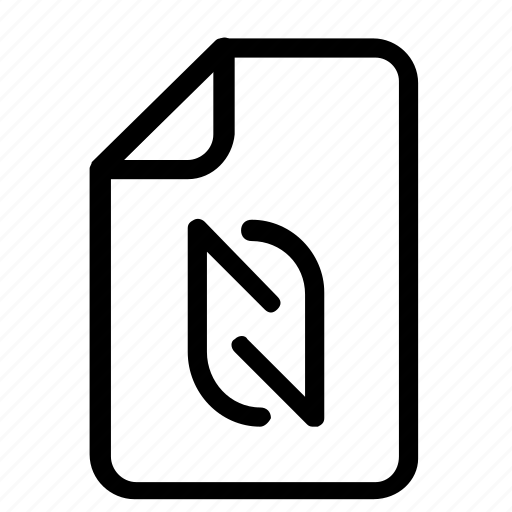 file, format, share icon