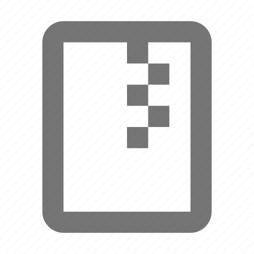 archive, document, file, folder, format, zipped icon