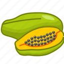 food, fruits, fruits icon, healthy food, papaya, papaya juice icon