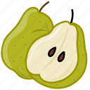 food, fruits, fruits icon, healthy food, peer, peer juice icon