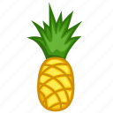 food, fruits, fruits icon, healthy food, pineapple, pineapple juice icon