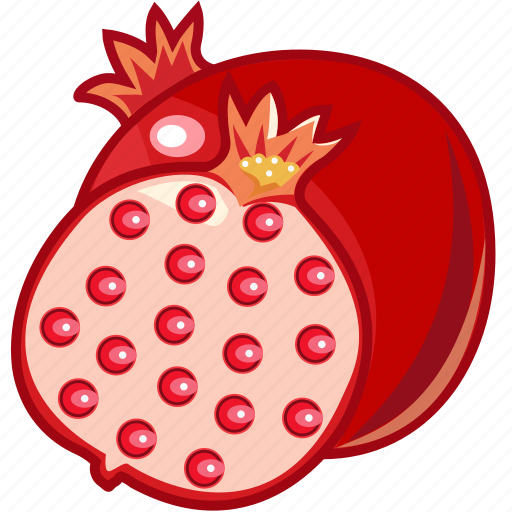 food, fruits, fruits icon, healthy food, pomegranate, pomegranate juice icon