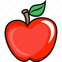 apple, apple juice, food, fruits, fruits icon, healthy food icon