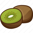 food, fruits, fruits icon, healthy food, kiwi, kiwi juice icon