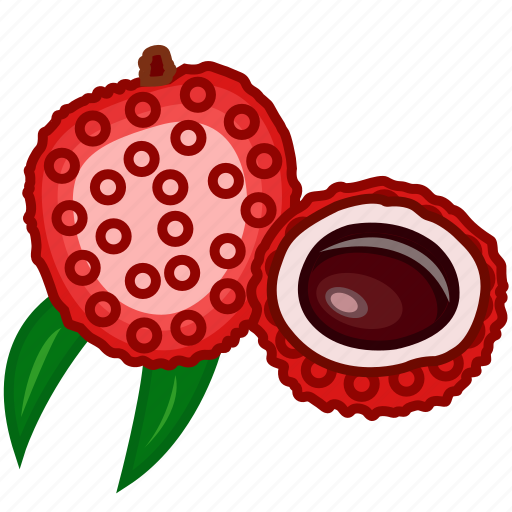 food, fruits, fruits icon, healthy food, lychee, lychee juice icon