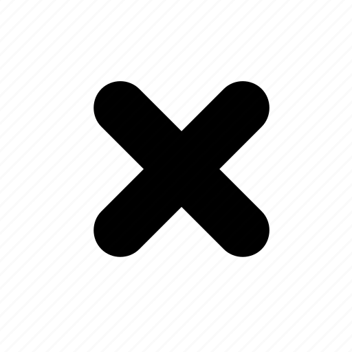 X Icon Transparent Close, cross, x icon |...