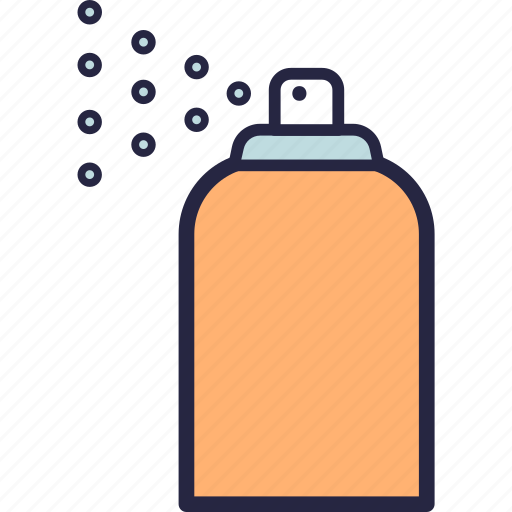 bug, camping, cleaning, mosquito, spray icon