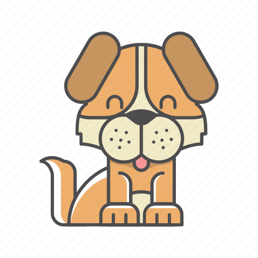 animals, branch, conservation, cute, design, dog, environment, filled, filled outline, flat, forest, front view, fur, hair, hairy, illustration, jungle, mammal, mustache, nature, outdoor, outline, species, tree, tropical, vector, wild, wildlife, wood, zoo icon
