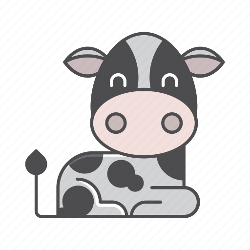 animals, branch, conservation, cow, cute, design, environment, filled, filled outline, flat, forest, front view, fur, hair, hairy, illustration, jungle, mammal, mustache, nature, outdoor, outline, species, tree, tropical, vector, wild, wildlife, wood, zoo icon