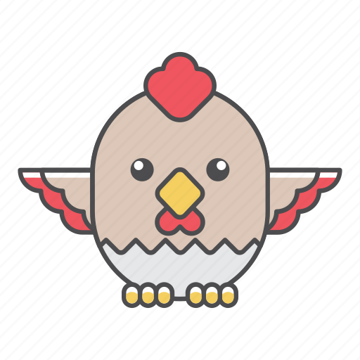 animal, avian, beauty, birds, blue, chicken, color, colorful, conservation, cute, design, environment, feather, filled, filled outline, flat, forest, front view, green, illustration, jungle, nature, outdoor, outline, park, rooster, species, tail, tropical, vector, wild, wildlife, zoo icon