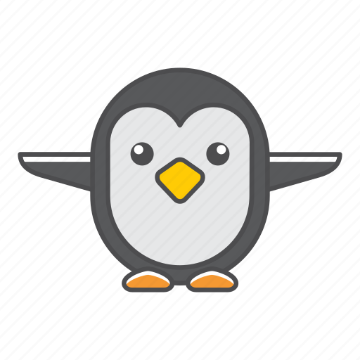 animal, avian, beauty, birds, blue, color, colorful, conservation, cute, design, environment, feather, filled, filled outline, flat, forest, front view, green, illustration, jungle, nature, outdoor, outline, park, penguin, species, tail, tropical, vector, wild, wildlife, zoo icon