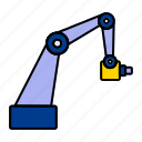 arm, crane, loding icon