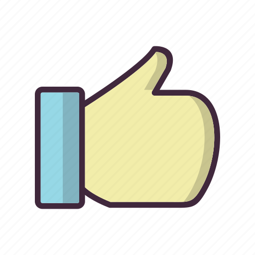 Like, good luck, hand icon - Download on Iconfinder