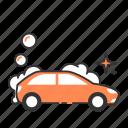 auto, car, carwash, clean, wash icon