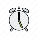 alarm clock, business, clock, deadline, office, time, timer icon