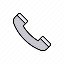 business, communication, office, receiver, telephone icon