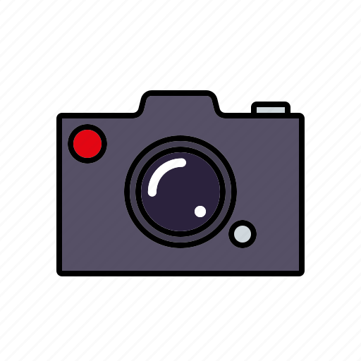 business, camera, imaging, office, photography, technology icon
