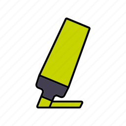 business, felt tip pen, highlighter, importance, marker, office icon