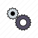 business, cogs, gearbox, machine, office, transmission icon