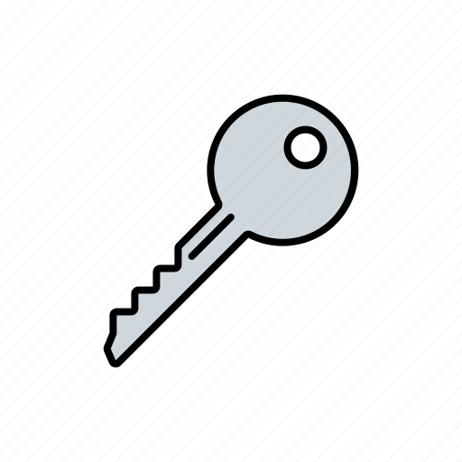 business, key, office, security icon