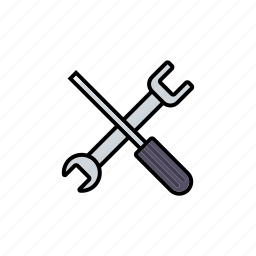 business, office, screwdriver, settings, technology, tools, wrench icon