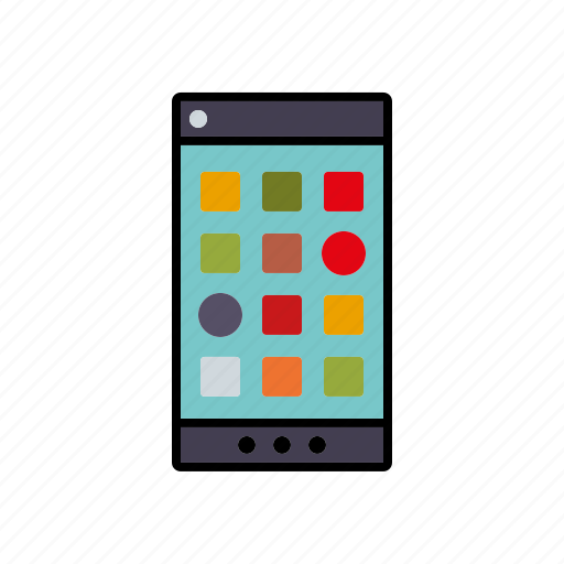 apps, business, communication, office, phone, smartphone, technology icon