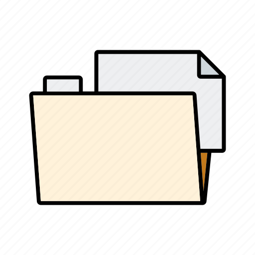 business, document, file, filing, folder, office icon