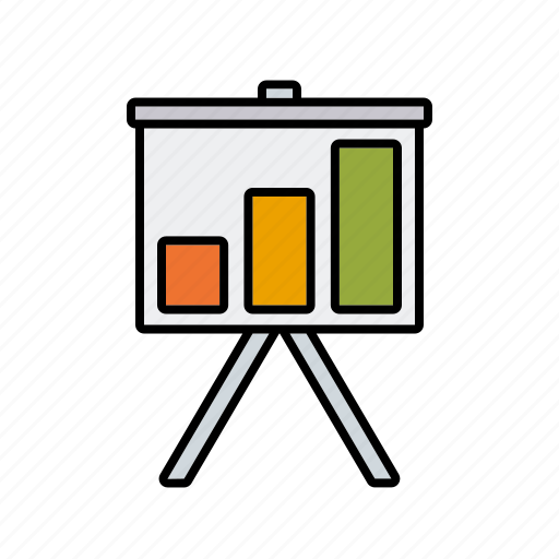 chart, finance, financial planning, graph, money, presentation icon