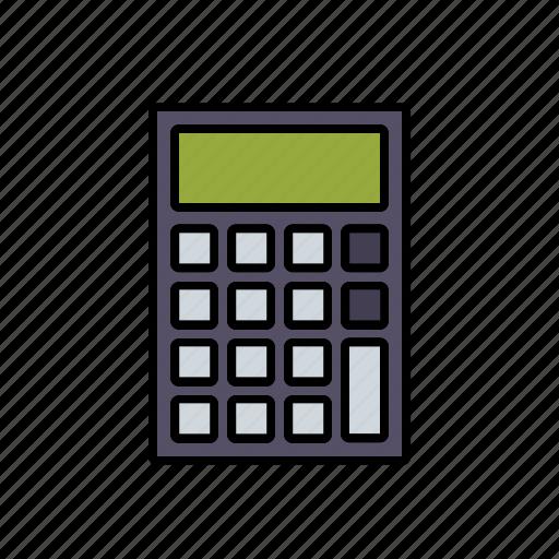 business, calculating, calculator, finance, money icon