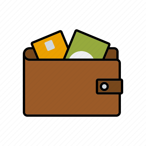 cash, credit card, finance, money, payment, wallet icon
