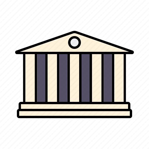 bank, building, finance, loans, money, savings icon