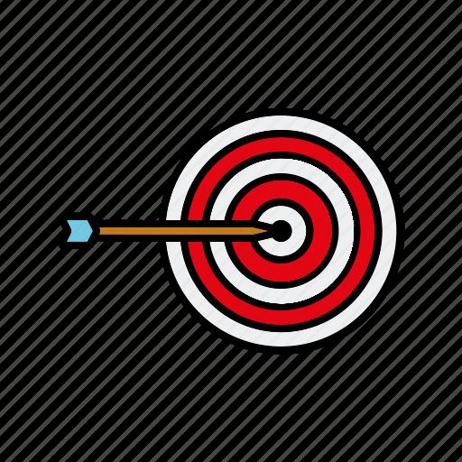 arrow, internet, marketing, seo, service, target icon