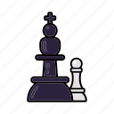 chess pieces, internet, marketing, seo, service, strategy icon