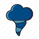 climate, cloud, meteorology, storm, tornado, weather icon